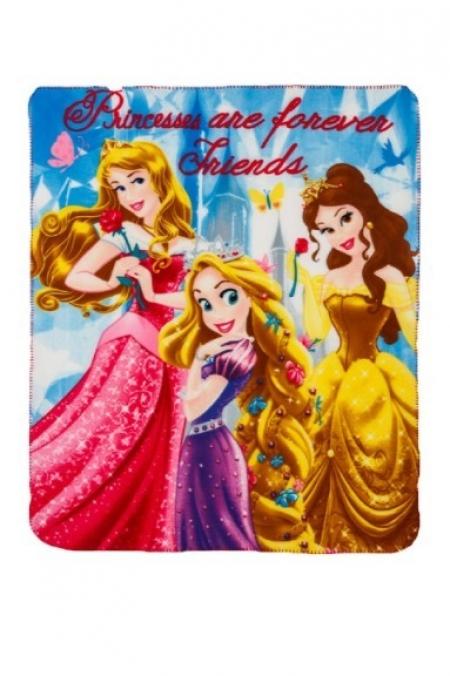 Пледы с принцессами