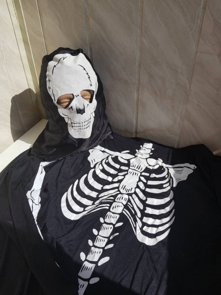 Скелет - карнавальный костюм на Хэллоуин, прокат в Киеве | SAL-rent