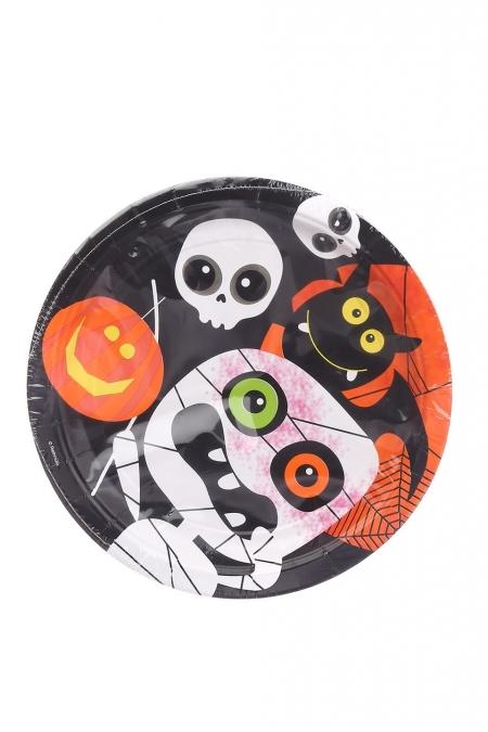 Одноразовая посуда Halloween