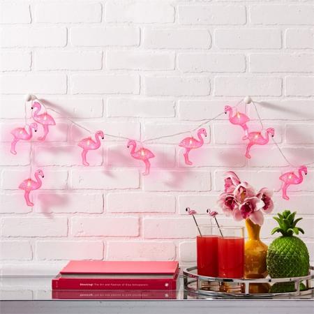 Гирлянда c фламинго