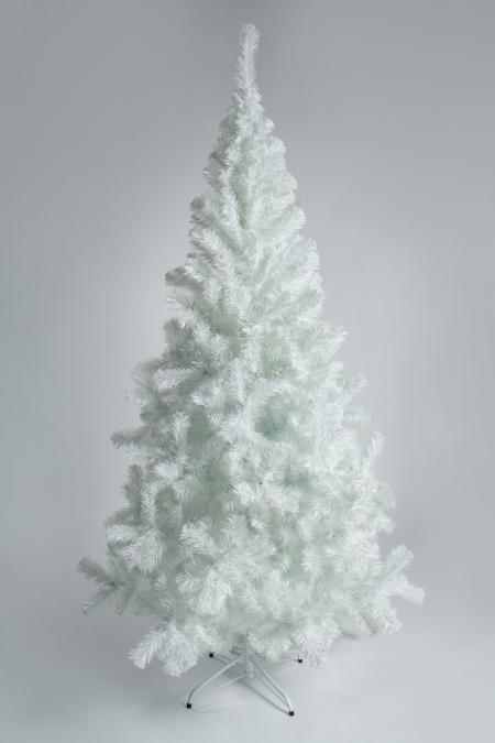 Белая ель с диодами (2,1 м)