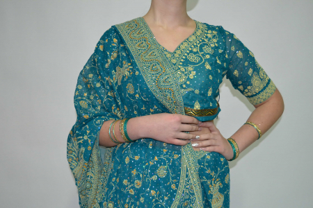 Индийский костюм 5