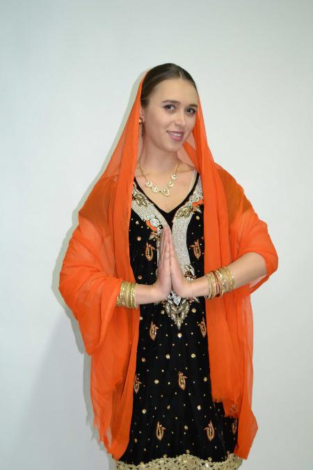 Индийский костюм 7