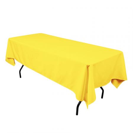 Желтая скатерть