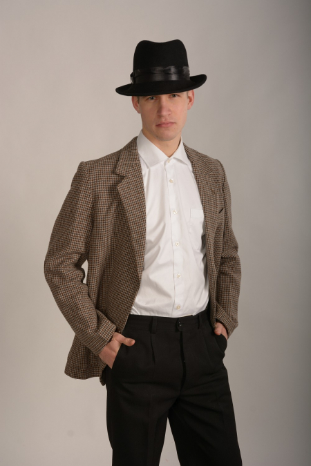 Гангстерская шляпа