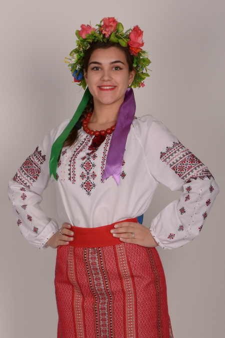 Украинский костюм (лето) 2
