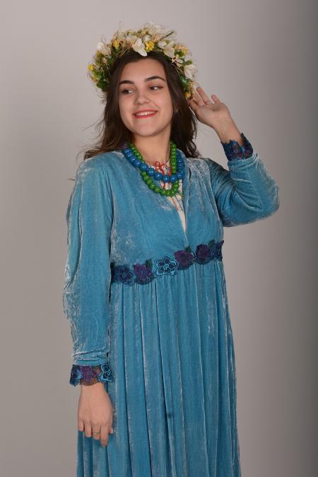 Платье украинское современное