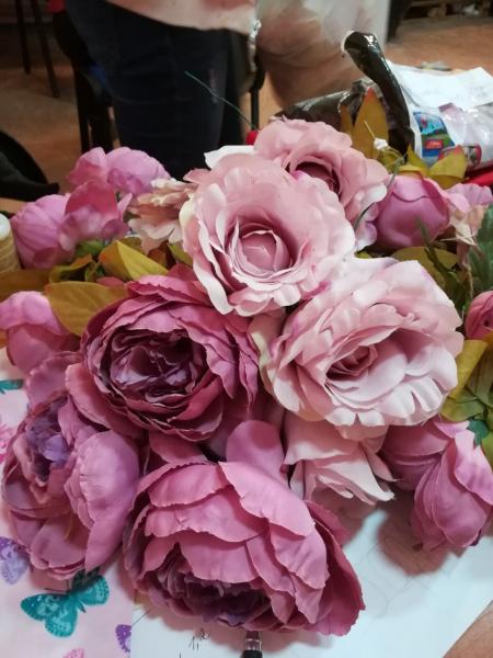 Головки цветов в ассортименте