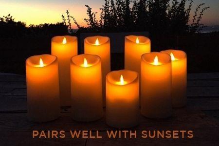 Электронные свечи светодиодные, аренда | SAL-rent