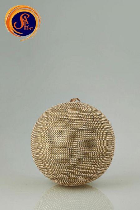 Золотые шары (30 и 40 см)