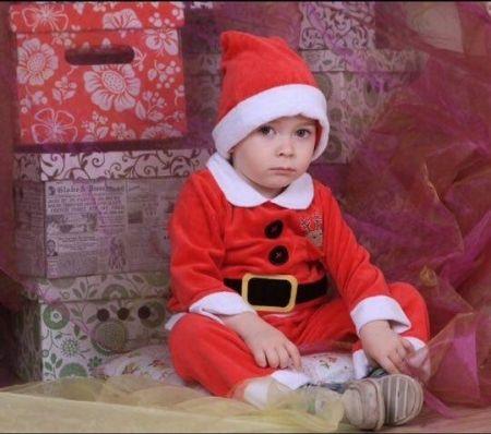 Детский костюм Санта Клауса напрокат в Киеве | SAL-rent