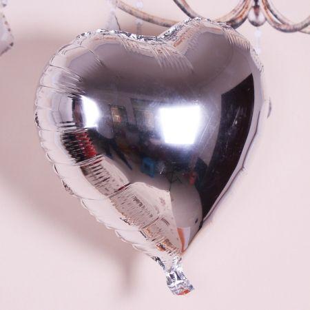 Шар фольгированный (Сердце, 44 см)