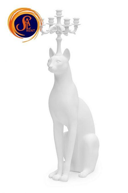 Дизайнерский подсвечник Cat в аренду | SAL-rent