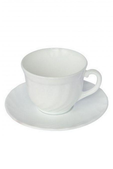 Чайный набор: чашка и блюдце
