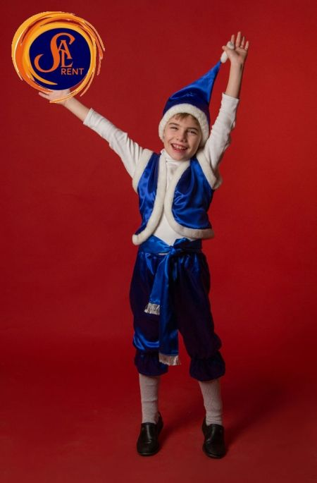 Детский костюм Деда Мороза, аренда, прокат в Киеве |SAL-rent