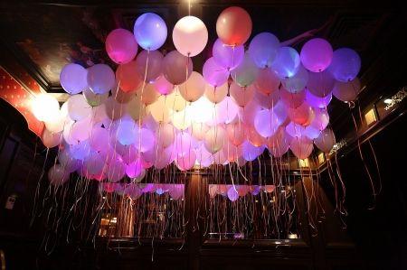 Светодиодные шарики на свадьбу, светящиеся шары | SAL-rent