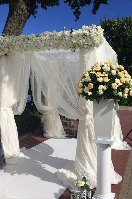 Свадебная арка прямоугольная
