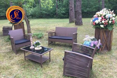 Набор ротанговой мебели