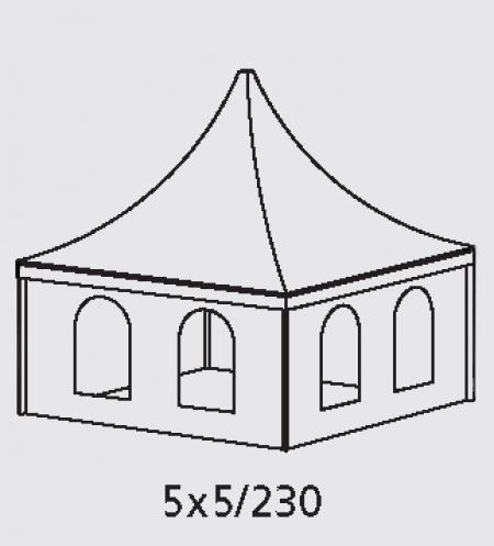 Тентовые конструкции Пагода/Pagoda