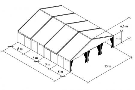 Тентовые конструкции Унифлекс/Uniflex