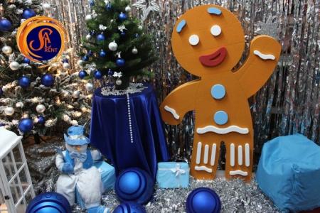 Имбирный пряник для новогодней фотозоны | SAL-rent
