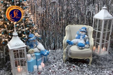 Аренда новогодней фотозоны №2 в Киеве | SAL-rent
