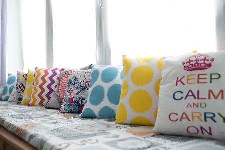 Подушки «Яркие»
