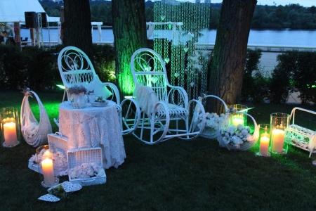 Фотозона «Прованс» с креслом-качалкой