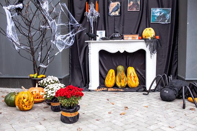 фотозона на Halloween