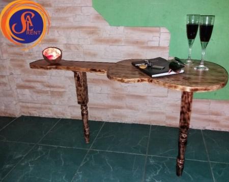Аренда журнального столика в форме гитары | SAL-rent