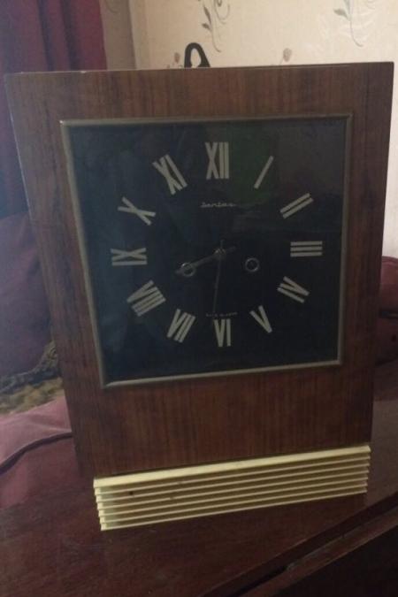 Советские настольные часы