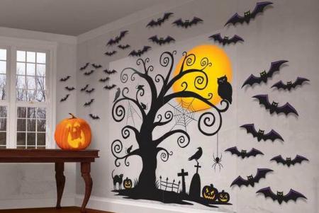 Как украсить дом на Хэллоуин 2018 - декор, советы | SAL-rent
