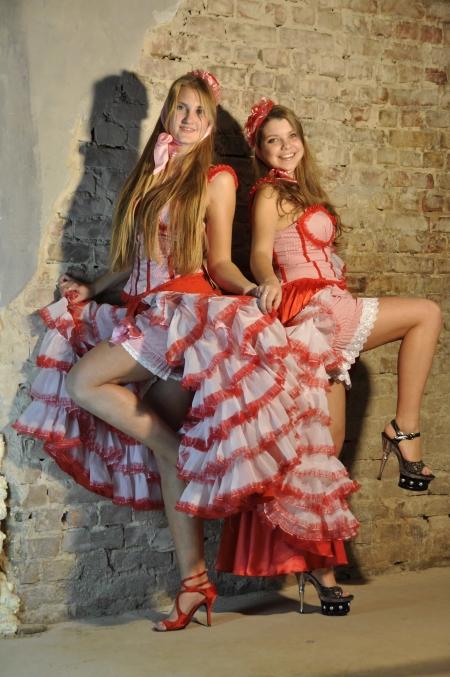 Прокат костюма танцовщицы канкана, кабаре в Киеве | SAL-rent
