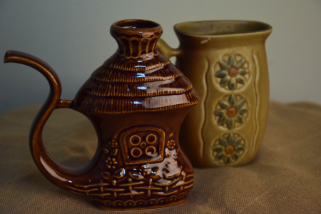 Чайник глиняный