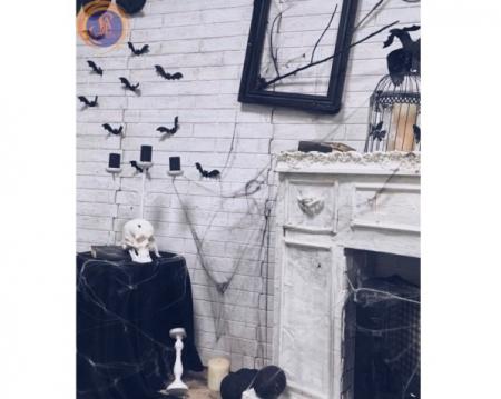 «Хэллоуин у камина»