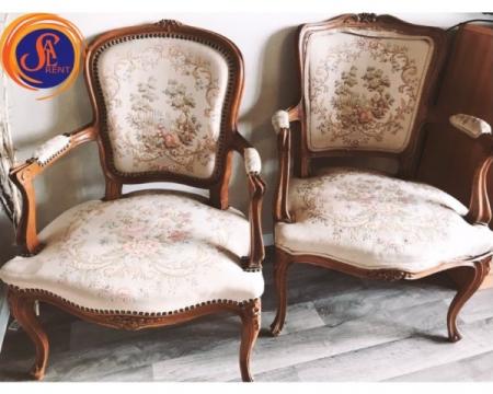 Кресла антикварные гобеленовые напрокат в Киеве | SAL-rent