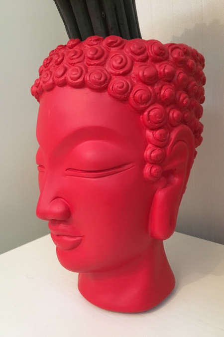 Ваза голова Будды