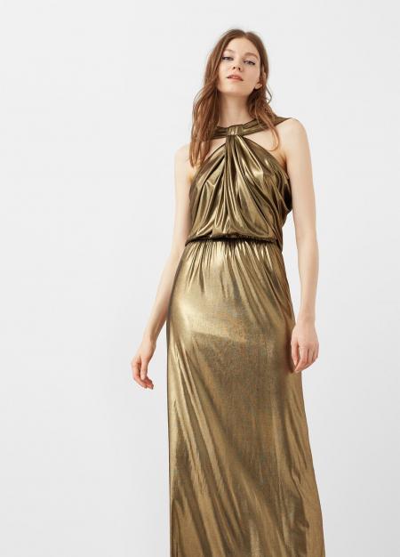 Платье для хостес золотое