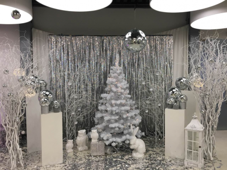 Тумбы белые декоративные в аренду в Киеве | SAL-rent