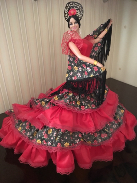 Кукла (статуэтка) испанка