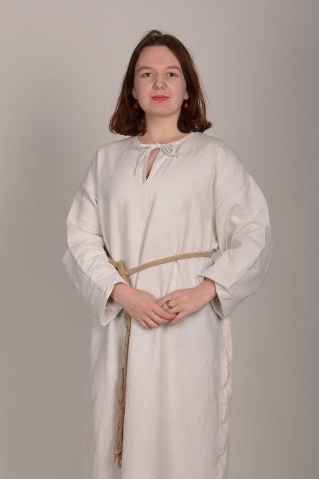 Сорочка женская льняная без вышивки