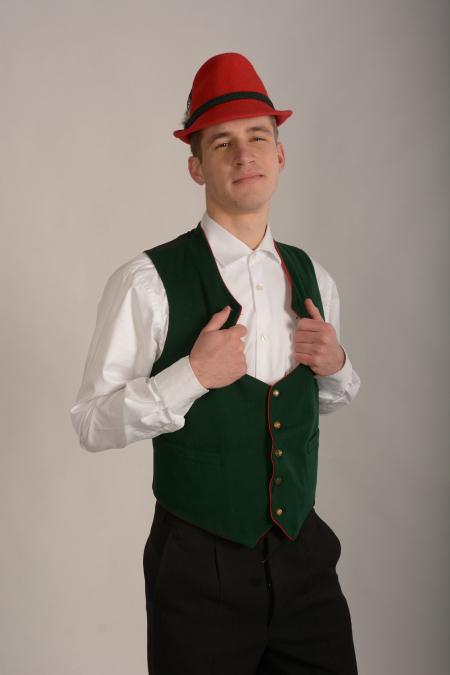 Австрийский мужской народный костюм