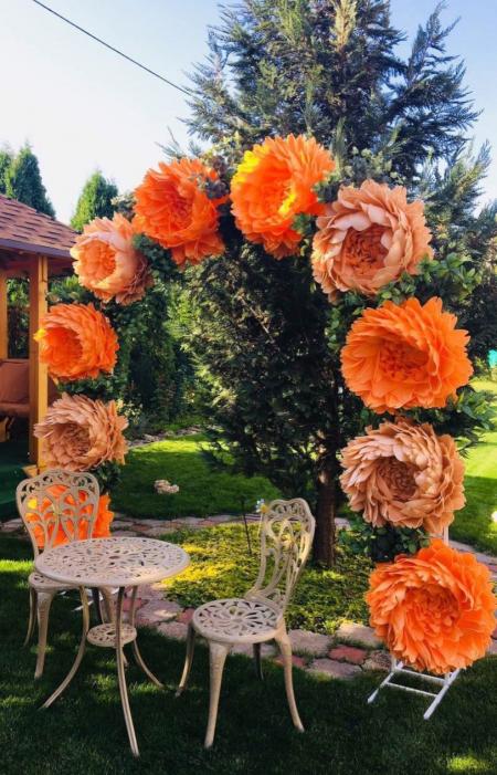 Ростовые цветы (изолон)