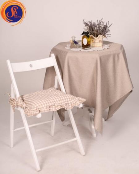 Аренда складных стульев в Киеве. Стулья Sven белые | Sal-rent
