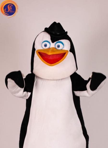 Ростовая кукла Пингвин из Мадагаскара напрокат. Киев | SAL-rent
