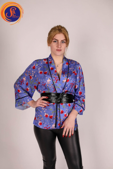 Блуза в китайском стиле