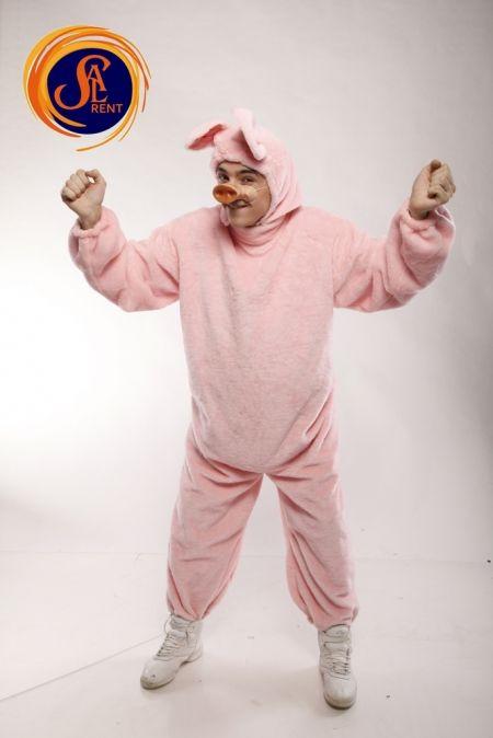 Свинка-пятачок XL-XXL