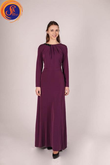 Вечернее платье, фиолетовое