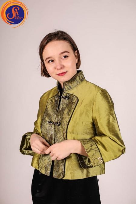 Пиджак в китайском стиле, хостес 2