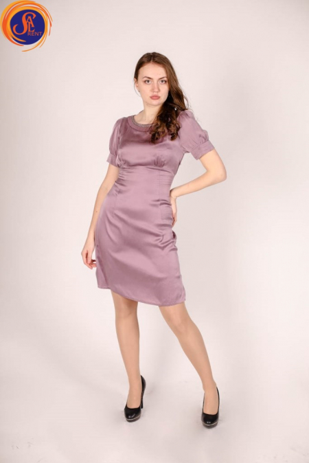 Платье пурпурное